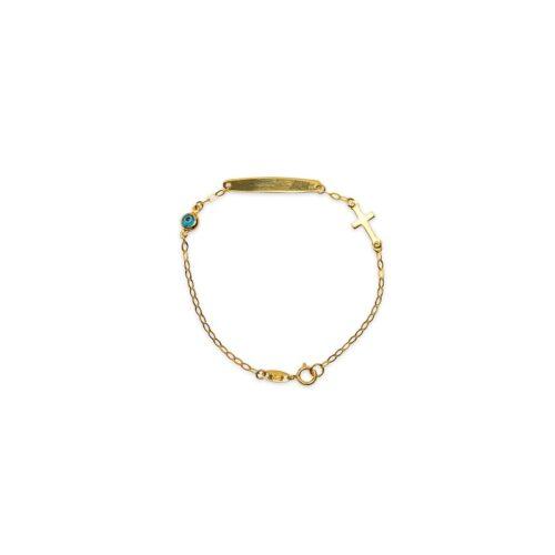Βραχιόλι παιδικό ταυτότητα Κ9-43-κοσμήματα μαμόγλου Αθήνα