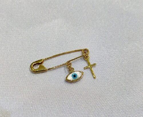 Χρυσή παραμάνα Κ9-10-κοσμήματα μαμόγλου Αθήνα.