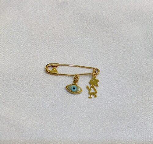 Χρυσή παραμάνα Κ9-11-κοσμήματα μαμόγλου Αθήνα.