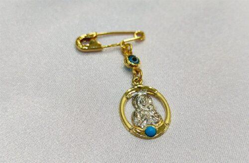 Χρυσή παραμάνα Κ9-12-κοσμήματα μαμόγλου Αθήνα.