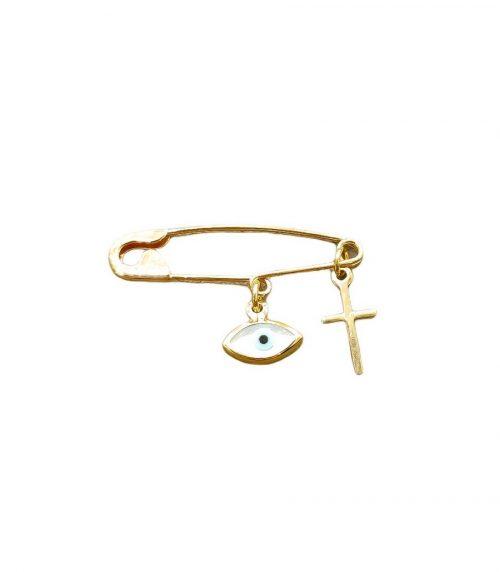 Χρυσή παραμάνα Κ9-43-κοσμήματα μαμόγλου Αθήνα. (2)