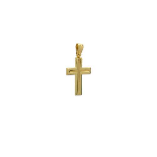 Χρυσός σταυρός Κ14-32-κοσμήματα μαμόγλου Αθήνα