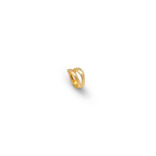 Χρυσό δαχτυλίδι Κ14- 34-κοσμήματα μαμόγλου Αθήνα
