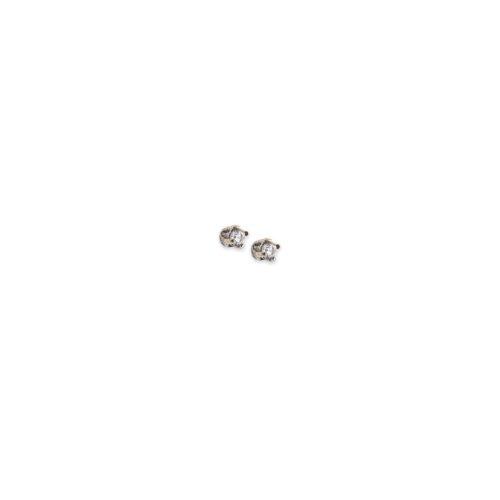 Λευκόχρυσα σκουλαρίκια Κ14-3-Κοσμήματα Μαμόγλου Αθήνα