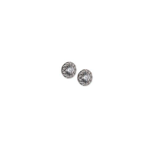 Λευκόχρυσα σκουλαρίκια Κ14-5-Κοσμήματα Μαμόγλου Αθήνα