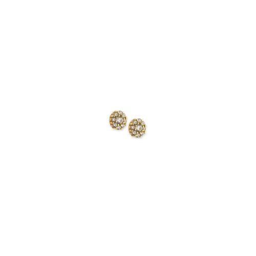 Χρυσά σκουλαρίκια Κ14-1-Κοσμήματα Μαμόγλου Αθήνα