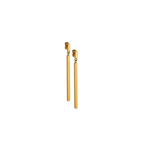 Χρυσά σκουλαρίκια Κ14-4-Κοσμήματα Μαμόγλου Αθήνα