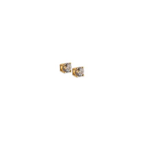 Χρυσά σκουλαρίκια Κ14-5-Κοσμήματα Μαμόγλου Αθήνα