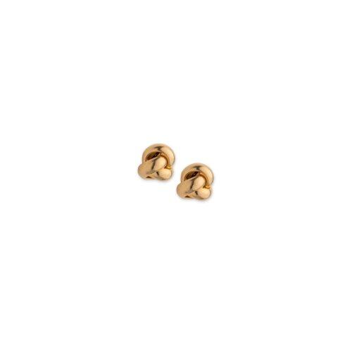 Χρυσά σκουλαρίκια Κ14-9-Κοσμήματα Μαμόγλου Αθήνα