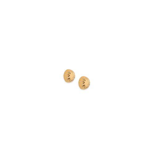 Χρυσά σκουλαρίκια Κ14-95-Κοσμήματα Μαμόγλου Αθήνα