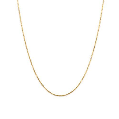 Χρυσή αλυσίδα Κ14.-1-Κοσμήματα Μαμόγλου Αθήνα