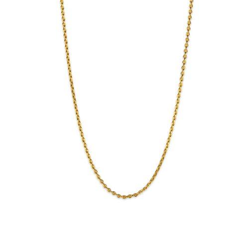 Χρυσή αλυσίδα Κ14.-2-Κοσμήματα Μαμόγλου Αθήνα