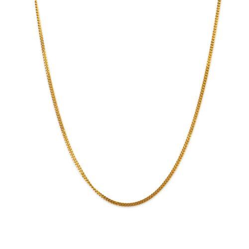 Χρυσή αλυσίδα Κ14.-5-Κοσμήματα Μαμόγλου Αθήνα