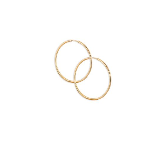 Χρυσοί κρίκοι Κ14-1-Κοσμήματα Μαμόγλου Αθήνα