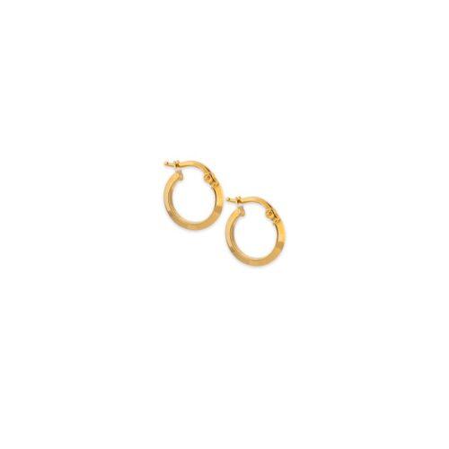 Χρυσοί κρίκοι Κ14-10-Κοσμήματα Μαμόγλου Αθήνα