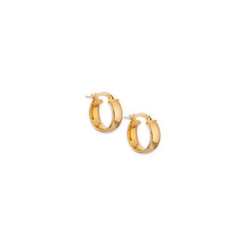 Χρυσοί κρίκοι Κ14-11-Κοσμήματα Μαμόγλου Αθήνα