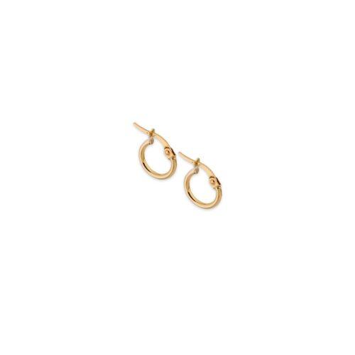 Χρυσοί κρίκοι Κ14-12-Κοσμήματα Μαμόγλου Αθήνα