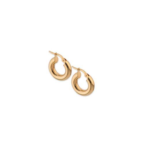 Χρυσοί κρίκοι Κ14-13-Κοσμήματα Μαμόγλου Αθήνα