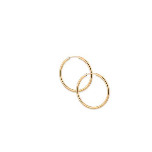 Χρυσοί κρίκοι Κ14-2-Κοσμήματα Μαμόγλου Αθήνα
