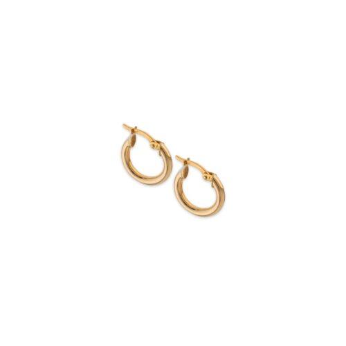 Χρυσοί κρίκοι Κ9-1-Κοσμήματα Μαμόγλου Αθήνα