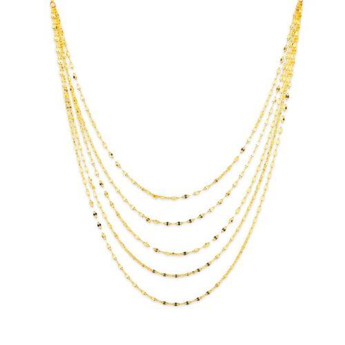 Χρυσό Κολιέ Κ14-90-κοσμήματα μαμόγλου Αθήνα