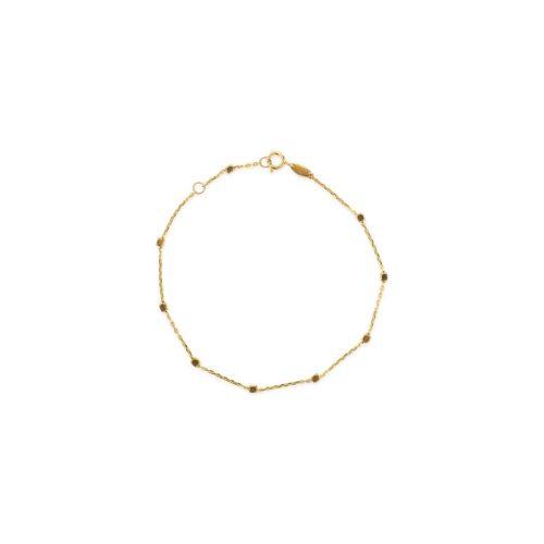 Χρυσό βραχιόλι Κ14-91-Κοσμήματα μαμόγλου αθήνα