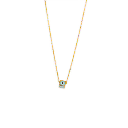 Χρυσό κολιέ Κ14-501-κοσμήματα μαμόγλου Αθήνα
