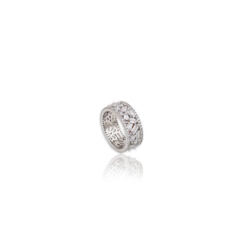 Ασημένιο δαχτυλίδι -100-κοσμήματα μαμόγλου Αθήνα