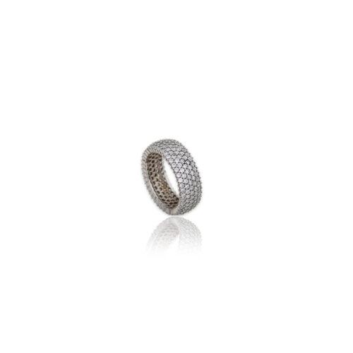 Λευκόχρυσο δαχτυλίδι Κ14-101-κοσμήματα μαμόγλου Αθήνα