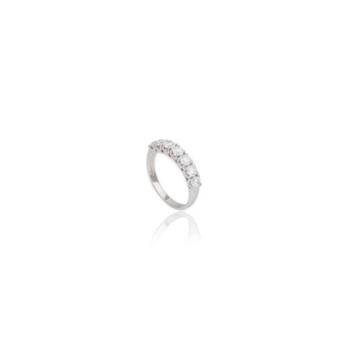 Λευκόχρυσο δαχτυλίδι Κ14-102-κοσμήματα μαμόγλου Αθήνα