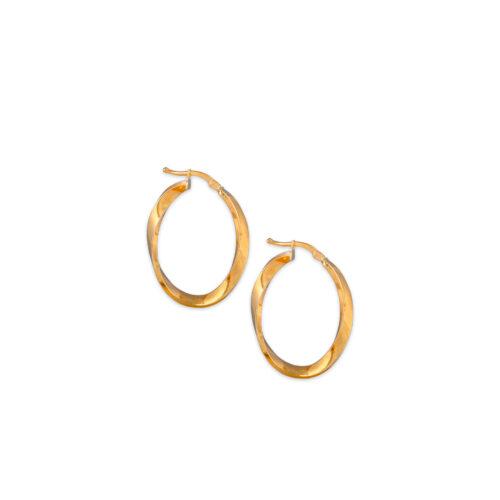 Χρυσοί κρίκοι Κ14-100-Κοσμήματα Μαμόγλου Αθήνα