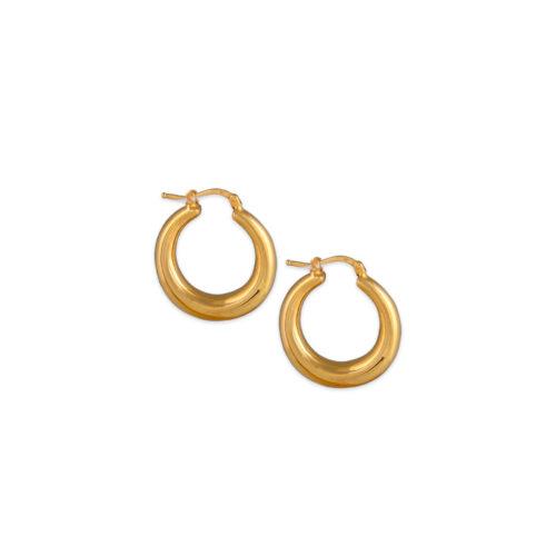 Χρυσοί κρίκοι Κ14-101-Κοσμήματα Μαμόγλου Αθήνα