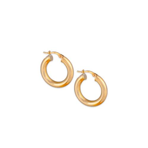 Χρυσοί κρίκοι Κ14-102-Κοσμήματα Μαμόγλου Αθήνα