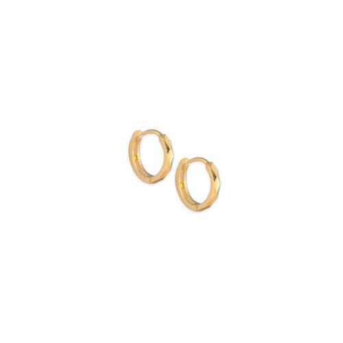 Χρυσοί κρίκοι Κ14-104-Κοσμήματα Μαμόγλου Αθήνα