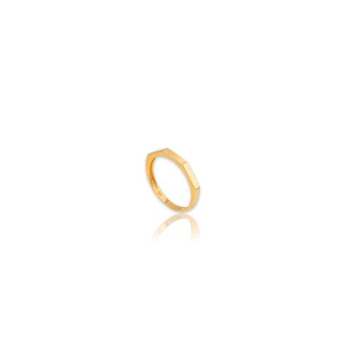 Χρυσό δαχτυλίδι Κ14-105-κοσμήματα μαμόγλου Αθήνα