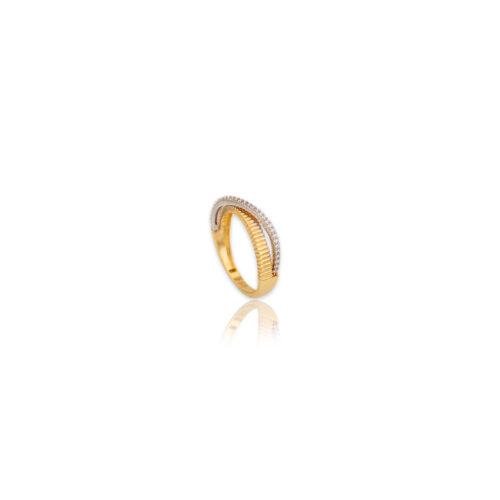 Χρυσό δαχτυλίδι Κ14-104-κοσμήματα μαμόγλου Αθήνα