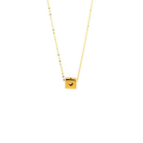 Χρυσό κολιέ Κ14-101-κοσμήματα μαμόγλου Αθήνα