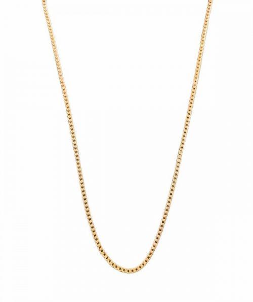 Χρυσή αλυσίδα Κ14 κρίκο κρίκο πλακέ χοντρό κοσμήματα μαμόγλου αθήνα