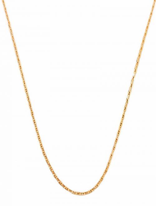 Χρυσή αλυσίδα Κ14 σχέδιο ΄Θ΄ κοσμήματα μαμόγλου αθήνα