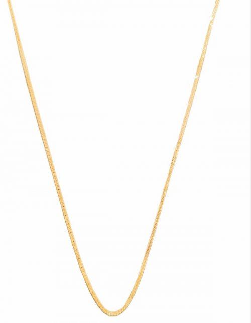 Χρυσή αλυσίδα Κ14 σχέδιο ΄σφίγγα΄ κοσμήματα μαμόγλου αθήνα