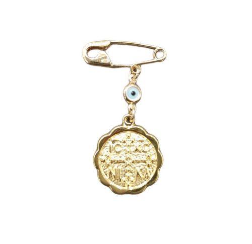 Χρυσή παραμάνα Κ9-40-κοσμήματα μαμόγλου Αθήνα. (2)
