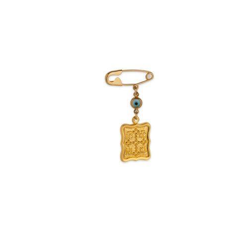Χρυσή παραμάνα Κ9-41-κοσμήματα μαμόγλου Αθήνα