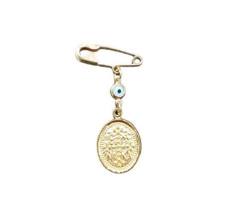 Χρυσή παραμάνα Κ9-42-κοσμήματα μαμόγλου Αθήνα. (2)