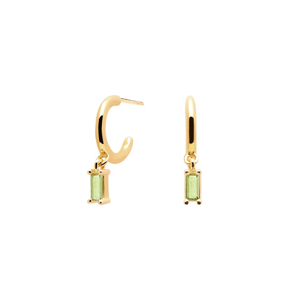 Ασημένια επιχρυσωμένα σκουλαρίκια apple alia-b-κοσμήματα Μαμόγλου Αθήνα
