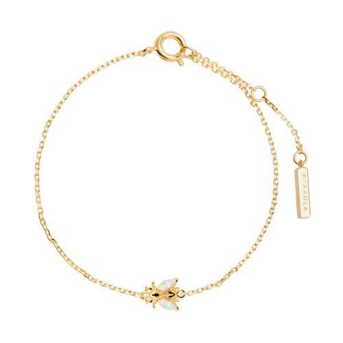 Ασημένιο επιχρυσωμένο βραχιόλι buzz gold-a-κοσμήματα Μαμόγλου Αθήνα