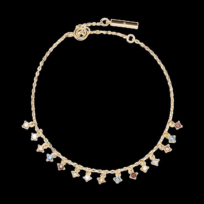 Ασημένιο επιχρυσωμένο βραχιόλι willow gold-a-κοσμήματα Μαμόγλου Αθήνα