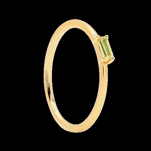 Ασημένιο επιχρυσωμένο δαχτυλίδι apple amani ring -a-κοσμήματα Μαμόγλου
