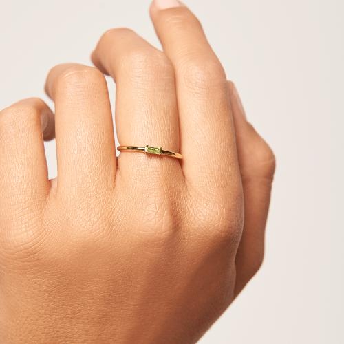 Ασημένιο επιχρυσωμένο δαχτυλίδι apple amani ring -b-κοσμήματα Μαμόγλου