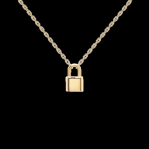 Ασημένιο επιχρυσωμένο κολιέ bond gold-a-κοσμήματα Μαμόγλου