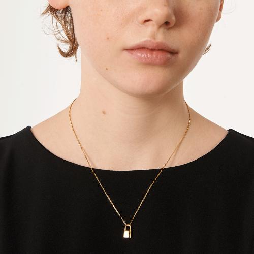 Ασημένιο επιχρυσωμένο κολιέ bond gold-b-κοσμήματα Μαμόγλου